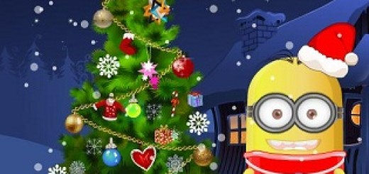 Play Baby Minion Tree Decoration game