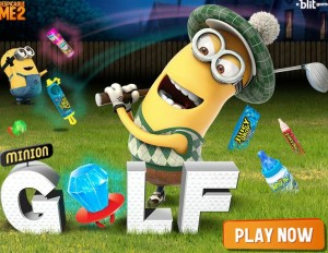 Play Minion at th Golf game