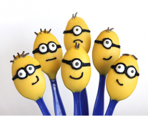 Minion Candy Spoons