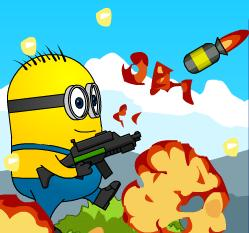 Play Crash Minions Rockets Zombies game