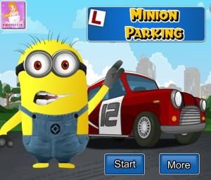 Play Minion Parking game