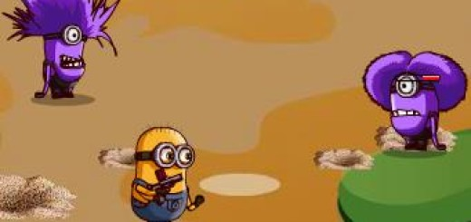 Play Minions Fighting Back game