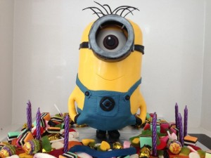 Tutorial Minion Cake 3D