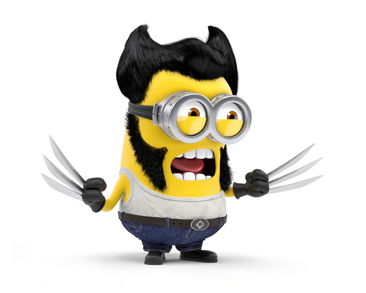 Minions Wallpaper Minion X Man Wolverine Planetminion